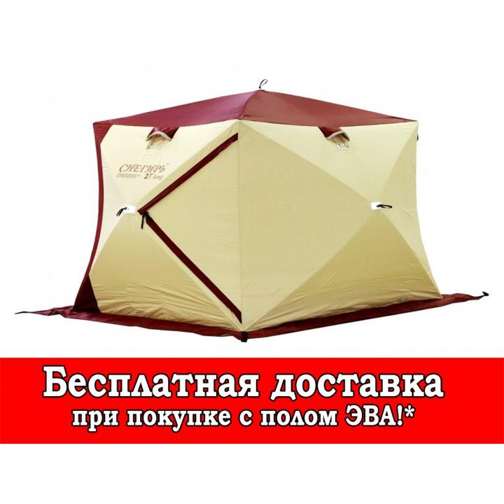 Зимняя палатка «Снегирь» 2T long