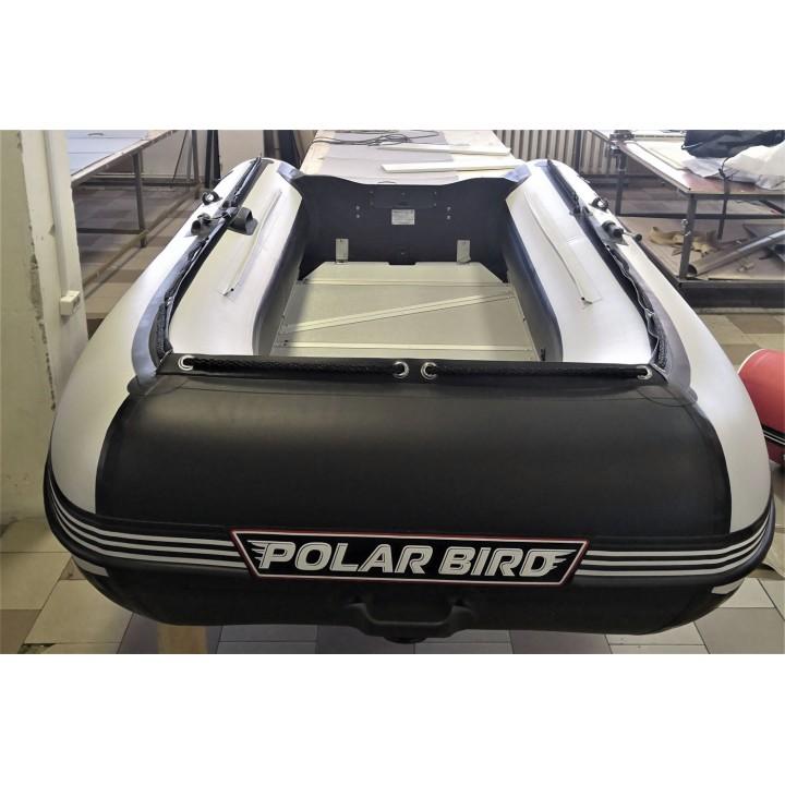 ЛОДКА POLAR BIRD 320M («черно-белая»), ТЕСТОВАЯ стеклокомпозит