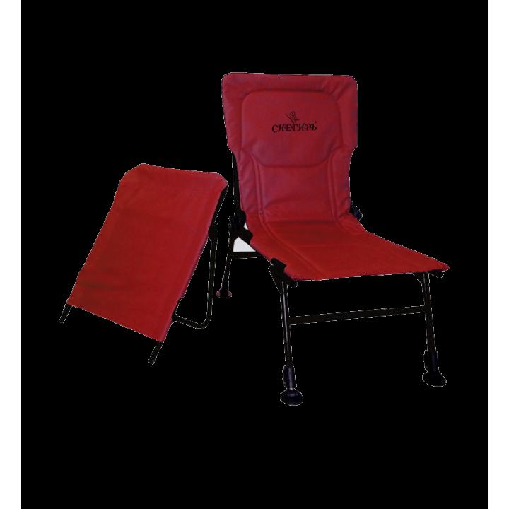 Кресло-трансформер «Снегирь» (бордово-черное)