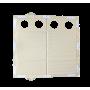 Пол 2Т long со стандартными отверстиями (ПВХ)