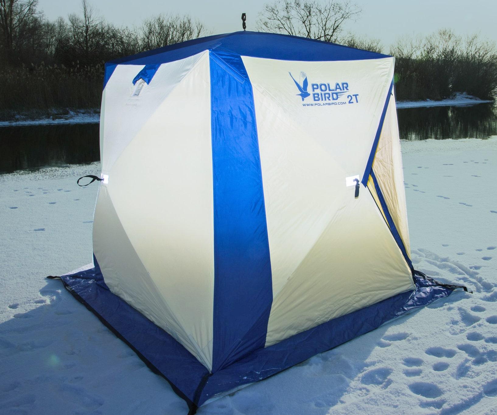 Зимние палатки Polar bird и СНЕГИРЬ